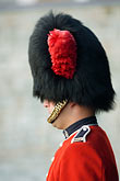 red headdress stock photography | Canada, Quebec City, Citadel, Honor Guard, Royal 22e R�giment, image id 5-750-9656