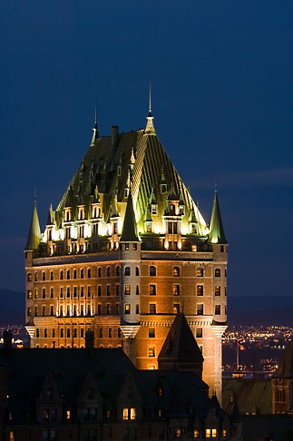 image 5-750-9867 Canada, Quebec City, Chateau Frontenac