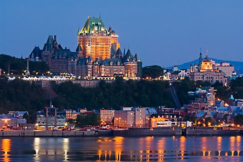 image 5-750-9903 Canada, Quebec City, Chateau Frontenac