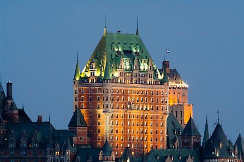 image 5-750-9908 Canada, Quebec City, Chateau Frontenac