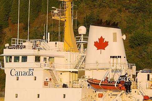 image 5-750-9942 Canada, Quebec City, Canadian Coast Guard Ship