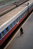 one man only stock photography | Russia, Vladivostok, Railway Station, Trans-Siberian Railway, image id 2-750-10