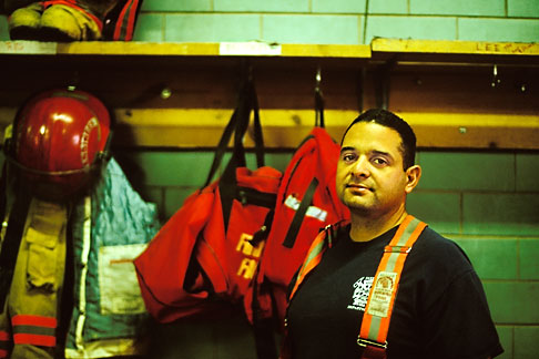 image S4-208-4 Portraits, Firefighter