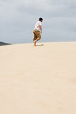person stock photography | Spain, Bolonia, Sand Dune, image id S5-128-9702
