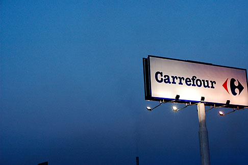 image S5-128-9776 Spain, Carrefour sign