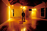 black stock photography | Portraits, Man in an empty house, image id S5-162-2