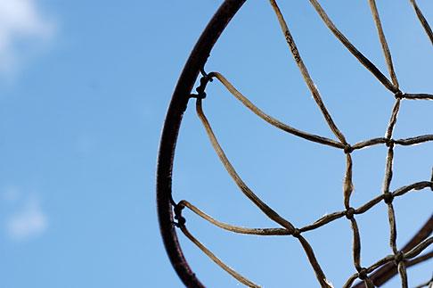 image S5-25-1966 California, Albany, Basketball Hoop