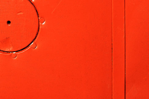 image S5-30-2122 Detail, Red door detail