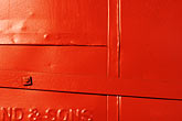 horizontal stock photography | Detail, Red Door Detail, image id S5-30-2123