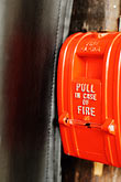 combustion stock photography | California, Albany, Fire alarm, image id S5-55-3261