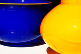 horizontal stock photography | California, Albany, Glass bowls, image id S5-64-3544