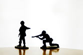 horizontal stock photography | Toys, Toy Soldiers, image id S5-64-3786