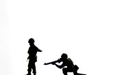 black stock photography | Toys, Toy soldiers, image id S5-64-3788