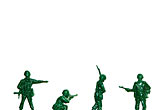 white background stock photography | Toys, Toy Soldiers, image id S5-64-3825