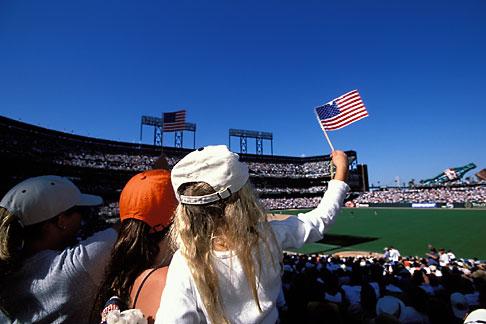 image 1-690-60 California, San Francisco, SBC Park, SF Giants baseball game