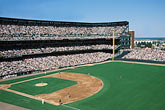 outdoor sport stock photography | USA, Baseball Park, (digitally modified), image id 1-691-92