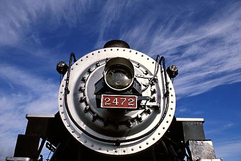 image 2-710-3 California, San Francisco Bay, Golden Gate Railroad Museum, SP locomotive 2472