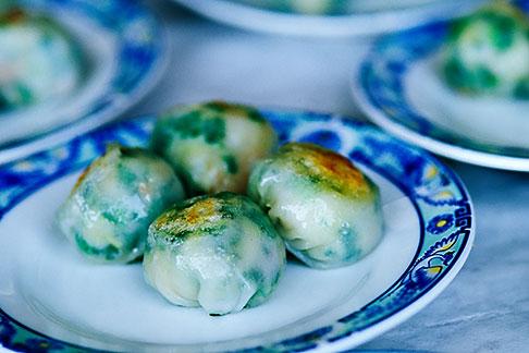 image 3-1010-49 Food, Dim Sum, Shrimp and chive dumplings