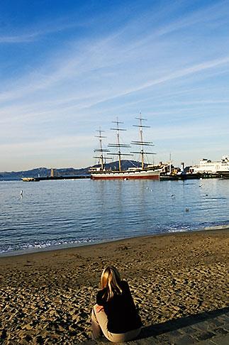 image 3-1011-43 California, San Francisco, GGNRA, Aquatic Park