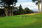 golden gate stock photography | California, San Francisco, Lincoln Park Golf Course, image id 3-1011-6