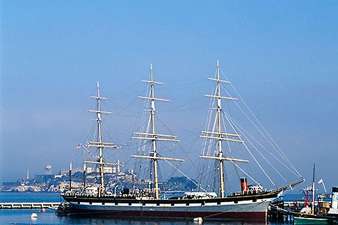image 3-1012-77 California, San Francisco, San Francisco Maritime National Historical Park, clipper ship Balclutha