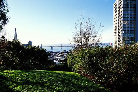 image 3-1013-56 California, San Francisco, Russian Hill, Vallejo Street Steps Park