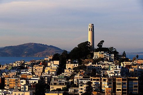 image 3-1013-72 California, San Francisco, Telegraph Hill, Coit Tower
