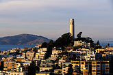 hill stock photography | California, San Francisco, Telegraph Hill, Coit Tower, image id 3-1013-72