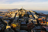 hill town stock photography | California, San Francisco, Telegraph Hill, Coit Tower, image id 3-1013-81