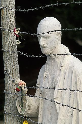 image 3-1014-14 California, San Francisco, Holocaust Memorial, George Segal, 1984