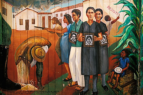 image 3-1014-74 California, San Francisco, Balmy Alley, Resistance, copyright Precita Eyes Muralists
