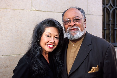 image 3-1015-10 California, San Francisco, Glide Memorial Methodist Church, Rev Cecil Williams and Janice Mirikitani