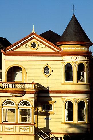 image 3-192-23 California, San Francisco, Victorian house