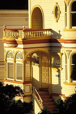 image 3-193-15 California, San Francisco, Victorian on Steiner Street