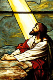 one figure stock photography | Religious Art, Jesus, Stained Glass, image id 4-238-34