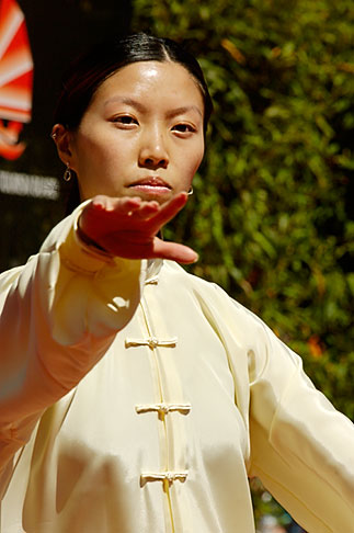 image 5-620-2977 California, San Francisco, Chinese Martial Artist