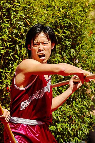 image 5-620-3003 California, San Francisco, Chinese Martial Artist