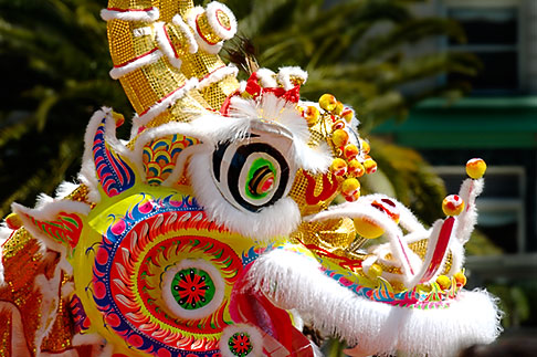 image 5-620-9563 Chinese Art, Chinese Dragon dance