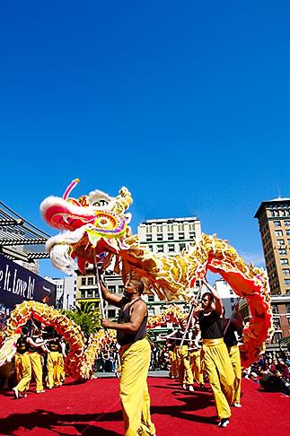 image 5-620-9915 California, San Francisco, Chinese Dragon Dance