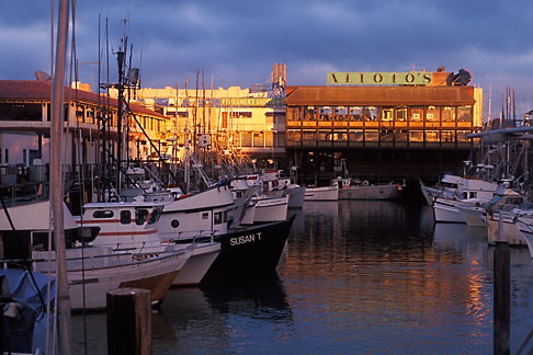 image 6-15-16 California, San Francisco, Fishermans Wharf , evening light