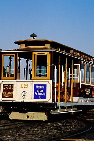 image 8-478-66 California, San Francisco, Hyde Street Cable Car