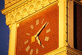 twilight stock photography | California, San Francisco, Clock tower, Ghiradelli Square, image id 9-13-9