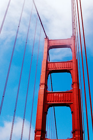image S4-310-110 California, San Francisco, Golden Gate Bridge