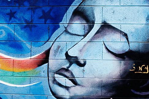 image S4-311-032 California, San Francisco, Graffiti