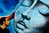 face stock photography | California, San Francisco, Graffiti, image id S4-311-033