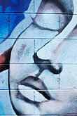 face stock photography | California, San Francisco, Graffiti, image id S4-311-035