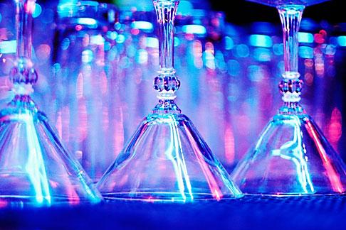 image S4-380-2599 California, San Francisco, Martini Glasses, Arrow Bar