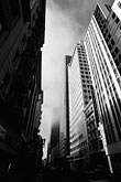 black and white stock photography | California, San Francisco, Financial District, image id S5-141-12
