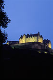 illuminated stock photography | Scotland, Edinburgh, Edinburgh Castle, image id 1-510-22