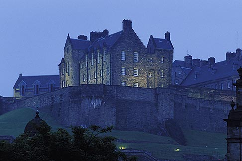 image 1-510-26 Scotland, Edinburgh, Edinburgh Castle